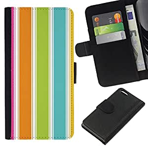 All Phone Most Case / Oferta Especial Cáscara Funda de cuero Monedero Cubierta de proteccion Caso / Wallet Case for Apple Iphone 5C // Colorful Beach Summer Vibrant