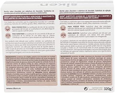 SIKEN SUSTITUTIVO - Barritas Sustitutivas, Sabor chocolate, 1 ...