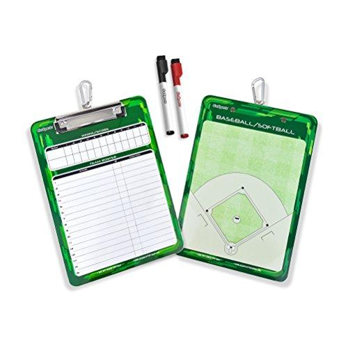 GoSports Baseball & Softball Lineup Board, Multi, Official