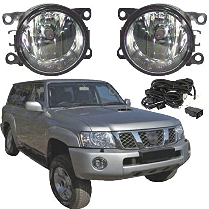 Amazon com: Auto-Tech For Nissan Patrol Y61 2005-2010 Front Fog Lamp