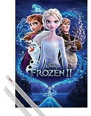 1art1 La Reine des Neiges Poster - Frozen 2 Magic (91 x 61 cm)