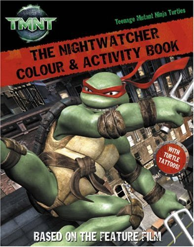 The Nightwatcher: Colour and Activity Book with Tattoos ...