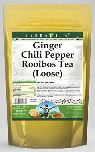 Ginger Chili Pepper Rooibos Tea (Loose) (8 oz, ZIN: 545723) - 3 Pack