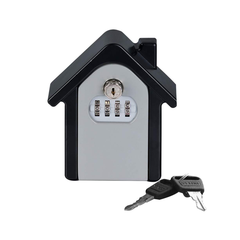 Cassetta sicurezza chiavi Key Safe Box Password Key Lock Chiavi di sicurezza esterne Scatola di immagazzinaggio Cassaforma di sicurezza a forma di parete CR#ST