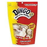Dingo Brand Rawhide Bone Small 3.5″, 6 ea Review