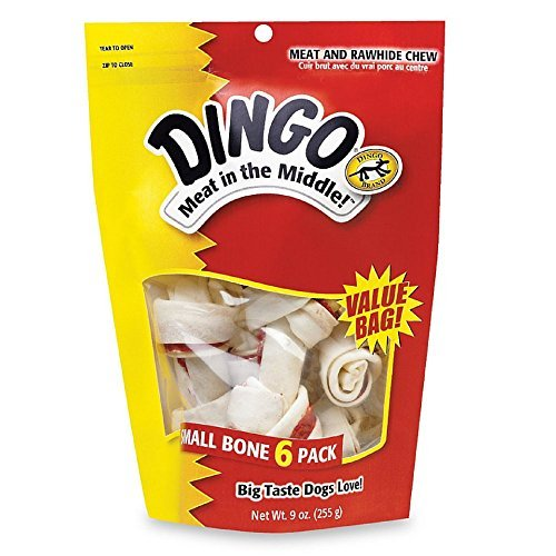 (Dingo Brand Rawhide Bone Small 3.5