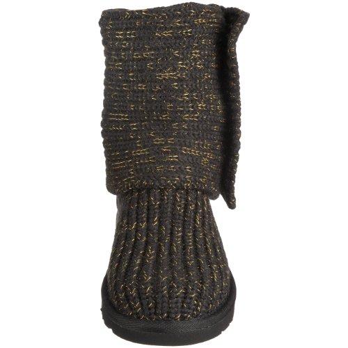 UGG Ws Cozy Knit 1865, Stivali, Donna Nero