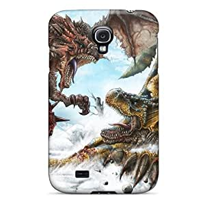 Elaney Snap On Hard Case Cover Monster Hunter Protector For Galaxy S4