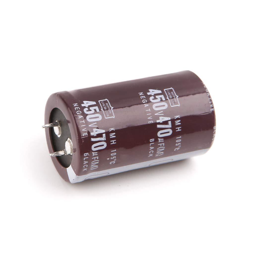 NNGUBIU Soudeuse /électrique 450V 470uF en aluminium condensateur /électrolytique Volume 30x50
