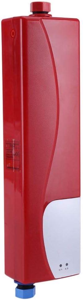 Mini calentador de agua instantáneo eléctrico de 3000 W sin tanque con válvula de presión
