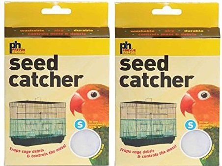 (2 Pack) Seed Catcher, Small Prevue Pet Products Inc SPOMHNK3638