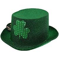GADGETKING Irlandés Sombrero de Copa Día de San Patricio Duende Vestido de  Lujo Partidario de Irlanda 2c823978356