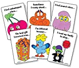 This cheerfully animated card deck is a therapeutic tool designed to help parents, teachers and mental health professionals engage children ages 5 and up. The deck contains 35 cards especially effective in helping children identify, process, and wort...
