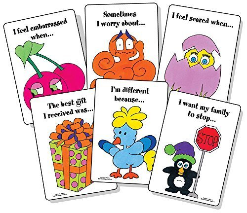 Thoughts and Feelings: A Sentence Completion Card - Kids Spot