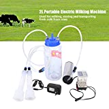 2L Portable Electric Milking Machine with Pulse Controller (Cow)