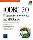 Microsoft ODBC 2.0 Programmer's Reference and SDK Guide, Microsoft Official Academic Course Staff, 1556156588