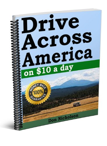 Drive Across America on $10 a day in a RV on back - Usa Sales Caravan