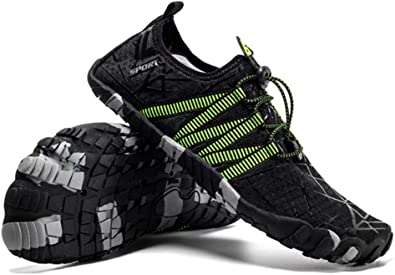 Water Shoes for Men Barefoot Quick-Dry Aqua Sock Outdoor Athletic Sport Shoes fo