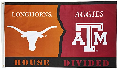 NCAA Texas Longhorns vs. Texas A&M Aggies 3-by-5 Foot Flag With Grommets
