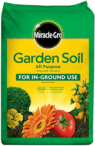Miracle-Gro 70551430 All-Purpose Garden Soil, 1 CF by Miracle-Gro