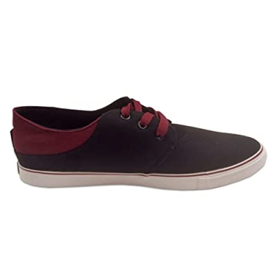 Hipster Mens Comfort Shoe (8, Black) | Fashion Sneakers