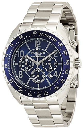 POLICE watch New Navy Chronograph 12545JS-03M Men's [regular imported goods]
