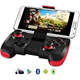 Samsung Gear VR Controller, Upgraded Version BEBONCOOL Android Bluetooth Game Controller Wireless Gamepad Joypad Joystick with Clip for Samsung S6 Edge, S7 Edge/Note 5/Nexus/LG/Tablet/Emulator/Oculus