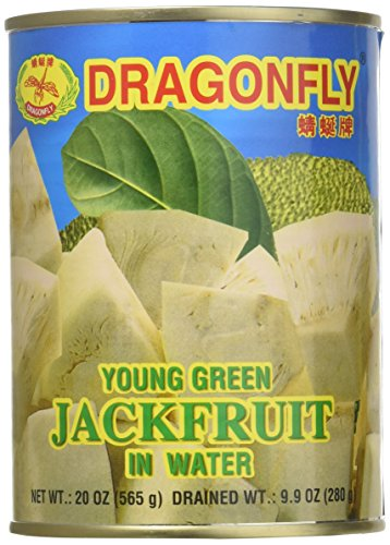 Young Green Jackfruit in Water - 20oz (Pack of 6) by Dragonfly (Image #5)
