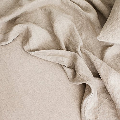 Merryfeel Luxurious 100% Pure French Linen Flat Sheet - ()
