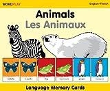 WordPlay Language Memory CardsAnimals (EnglishFrench)