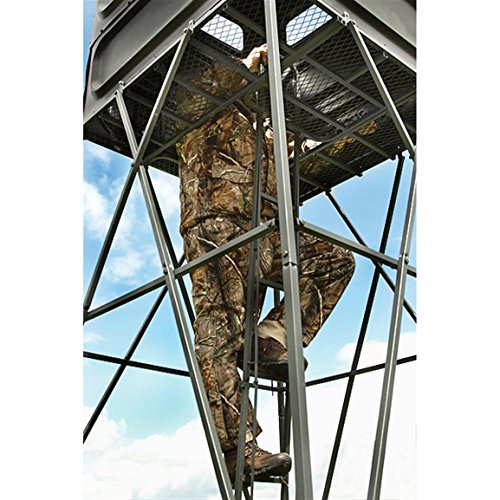 10' Box Stand Hunting | Deluxe, Sturdy, Well-designed Elevated Hidden Hunting Treehouse. by Guide Gear (Image #1)