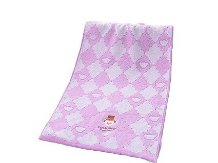 UHUA Dibujos animados de algodón bordado adulto espesar lavado cara toalla pareja lavado toalla de limpieza