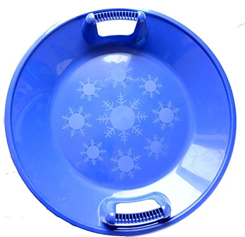 Snow Sled Kids Winter Plastic Saucer , 25-inch Diameter