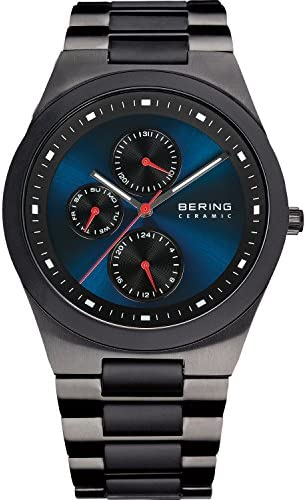 BERING Time 32339-788 Mens Ceramic Collection Watch with Stainless Steel Band and Scratch Resistant Sapphire Crystal. Designed in Denmark.