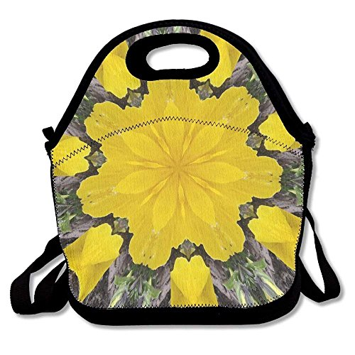 Flyss Ear Of Yellow Corn Lunch Bag Insulated Lunch Box