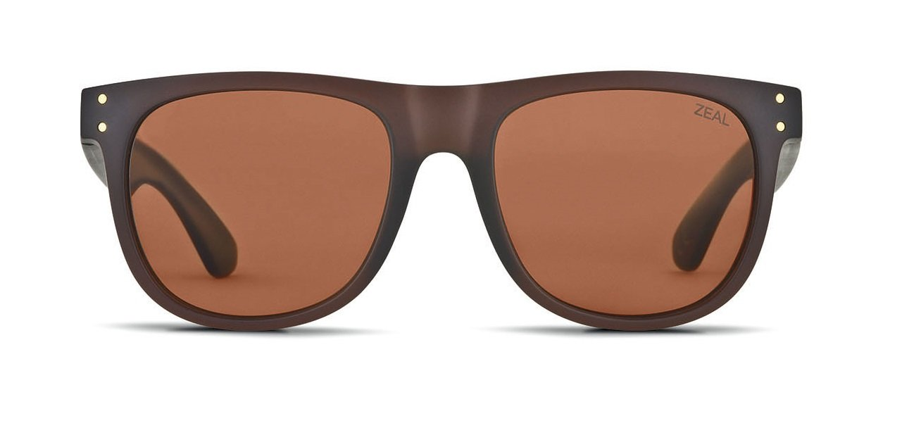 Zeal Optics Unisex Ace Bombay Brown W / Copper Polarized Lens Sunglasses by Zeal (Image #2)
