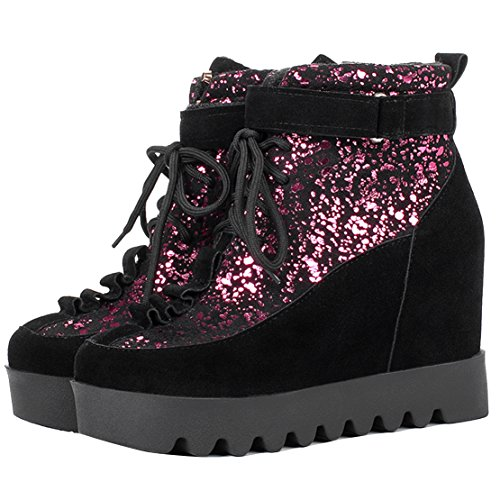 AIYOUMEI Red Women's AIYOUMEI Boot Women's Classic ZqY5Xww