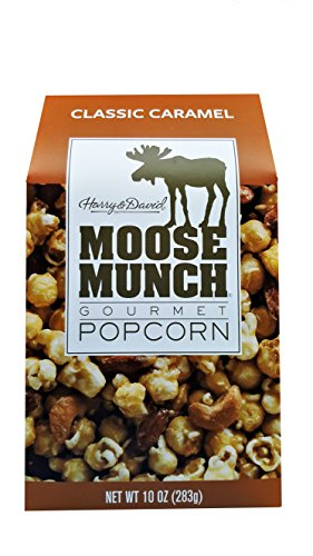 Moose Munch (Harry & David Moose Munch Gourmet Popcorn Classic Caramel 10 oz Package)