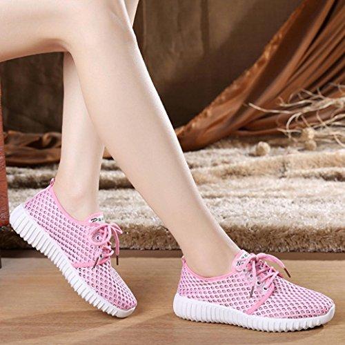 Corsa Donna Luo Scarpe Ginnastica da Donna Scarpe Scarpe e Leggero da Donna Zeppa B Camminare Sneaker Casual Donna da Beauty Traspirante Scarpe comode Sneaker Estive per EOfpEq