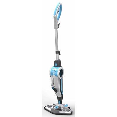Aqua Laser Nettoyeur à vapeur 2-en-1 blanc et bleu 1500 W
