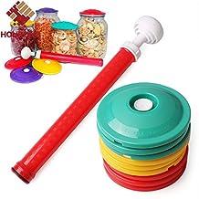 10Pcs/Set 9In1 Jar Sealer Vacuum Cover Fresh Keeping Cover Food Saving Storage Lid Food Fresh Canning Set