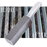 ZeroChar Grill Brush, Grill Cleaner Natural Lava Works Better Than Wire Grill Cleaning Brushes
