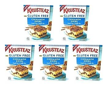 Krusteaz Gluten Free Cinnamon Swirl Crumb Cake Muffin Mix 20oz Pack Of 5