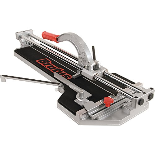 Brutus 10600BR 24-Inch Rip and 18-Inch Diagonal Pro Porcelain Tile Cutter with 7/8-Inch Cutting Wheel