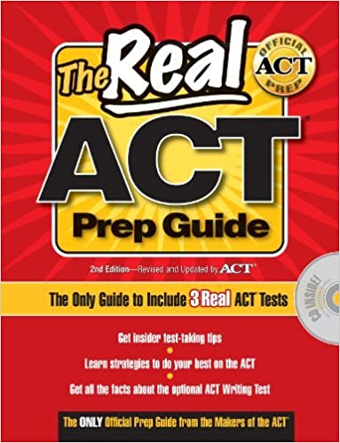 Real ACT Prep Guide with CD-Rom (Real ACT Prep Guide (W/CD)) by ACTOrg (2010-10-05)