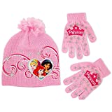 Disney Little Girls' Princess Hat and Glove Set
