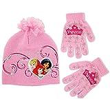 Disney Little Girls' Princess Hat and Glove Set