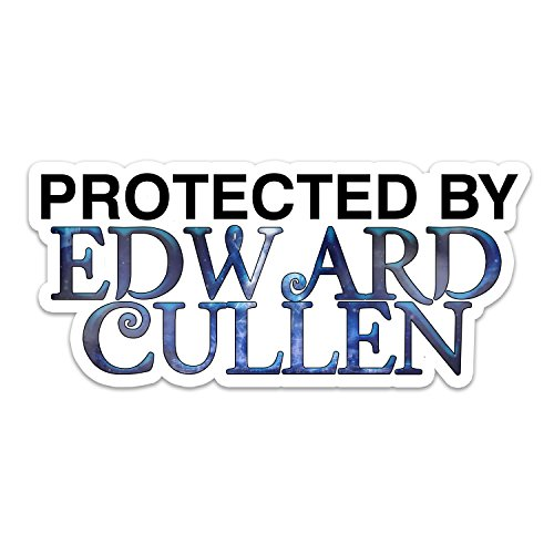 Protected by Edward Vampire Cullen Window Laptop Car Sticker 8