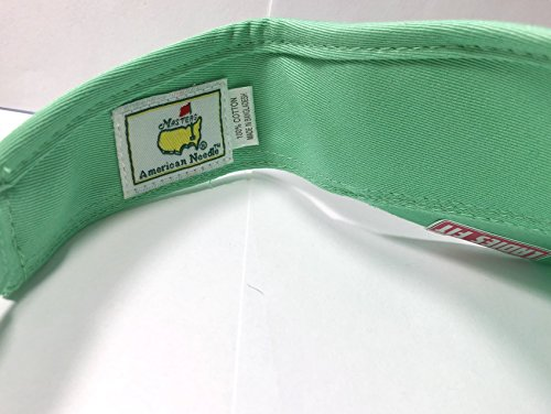 691b53191d741 Masters Ladies Women s 2018 Golf Mint Light Green Visor Hat Adjustable  Official Augusta National by Masters