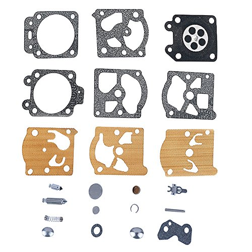 - Savior Carburetor Carb Rebuild Kit Gasket Diaphragm for K20-WAT Stihl 021 023 025 026 1121 1123 1130 Homelite 240 245 250 290 300 340
